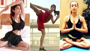 International Yoga Day 2019: बॉलीवुड की इन 5 हॉट एक्ट्रेसेस की फिटनेस में योगा का है बड़ा हाथ, देखें वीडियोज