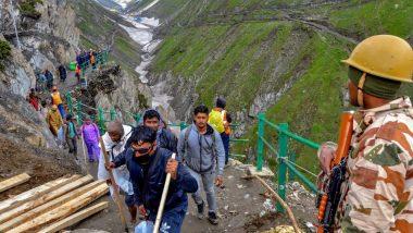 Amarnath Yatra: 4 अगस्त तक स्थगित रहेगी बाबा अमरनाथ यात्रा, मौसम विभाग ने जताई भारी बारिश की संभावना