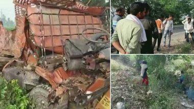 उत्तर प्रदेश के संभल में भीषण सड़क हादसा, 8 लोगों की मौत, 10 गंभीर