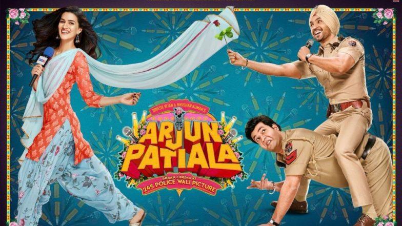 दिलजीत दोसांझ, कृति सेनन और वरुण शर्मा की कॉमेडी फिल्म अर्जुन पटियाला का मजेदार ट्रेलर हुआ रिलीज