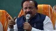 केंद्रीय स्वास्थ्य मंत्री हर्षवर्धन ने कहा- किशोरियों का गर्भवती हो जाना चिंता की बात