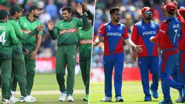 Bangladesh vs Afghanistan CWC 2019: सोमवार को पहली जीत के लिए बांग्लादेश से भिड़ेगा अफगानिस्तान
