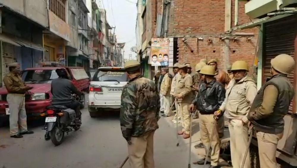 अयोध्या में आतंकी संभावित आतंकी हमले की आशंका पर पूरा शहर में हाई अलर्ट जारी