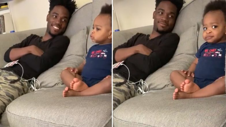 इस बच्चे को देखकर खुश हो जाएंगे आप, Video में देखें कितनी क्यूट करता है बातें