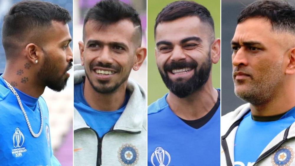 वर्ल्ड कप के लिए भारतीय खिलाड़ियों ने बदला हेयरस्टाइल, आपको पसंद आया किसका लुक?