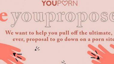 XXX साइट Youporn.com दे रहा है 20 मिलियन लोगों के सामने पार्टनर को प्रपोज करने का मौका, बस करना होगा यह काम