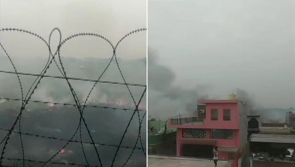 हरियाणा: दुर्घटनाग्रस्त होने से बाल-बाल बचा वायुसेना का जगुआर, फ्यूल टैंक गिरा के कराई इमरजेंसी लैंडिग