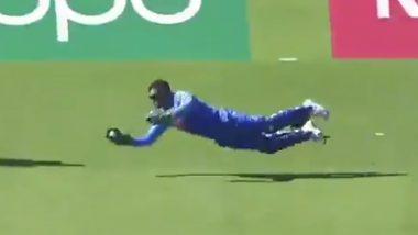 IND vs WI, ICC CWC 2019: धोनी की लाजवाब विकेटकीपिंग, बुमराह की गेंद पर पकड़ा हैरतअंगेज कैच, देखें वीडियो