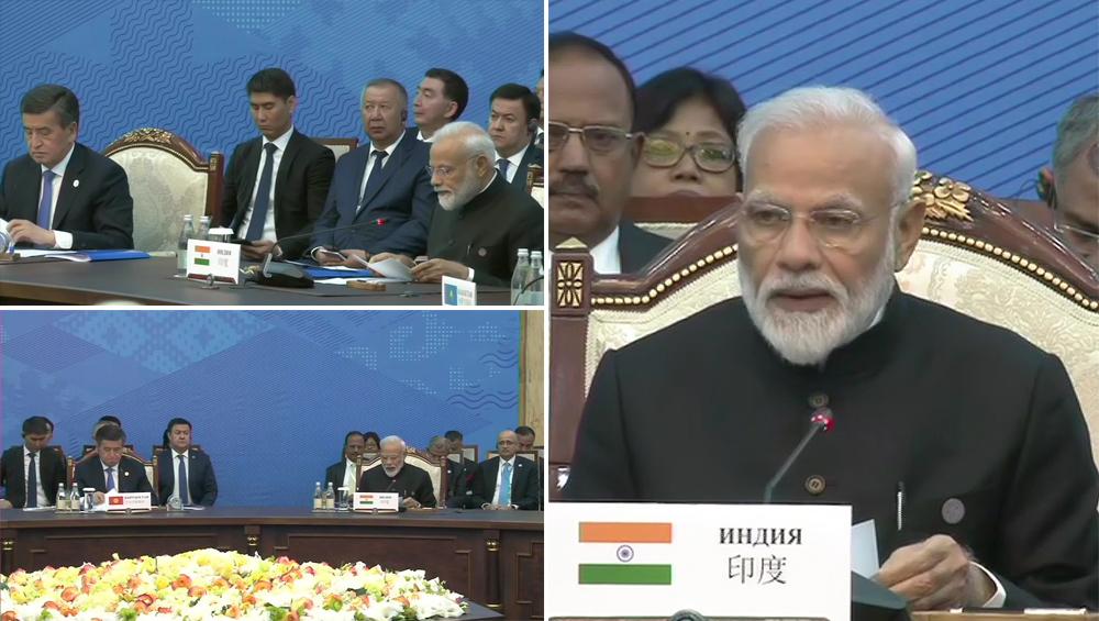 SCO Summit: पीएम मोदी ने इमरान के सामने पाक को लताड़ा, कहा- आतंकवाद को पनाह देने वालों के खिलाफ सख्त कार्रवाई होना जरूरी
