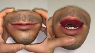 इंसान के चेहरे वाला अनोखा पर्स, सिक्के रखने के लिए खोलना पड़ता है इसका मुंह, Video देख आप भी हो जाएंगे हैरान