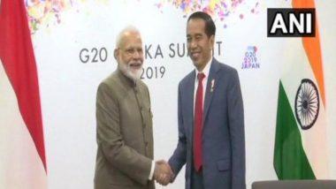 प्रधानमंत्री नरेंद्र मोदी ने इंडोनेशिया और ब्राजील के राष्ट्रपतियों के साथ की अलग-अलग बैठक