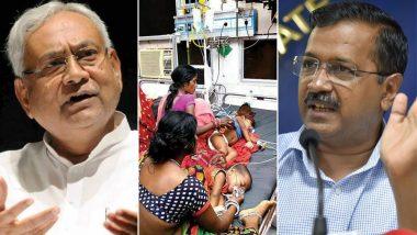 बिहार में मासूमों पर चमकी बुखार का कहर जारी: मौत का आंकड़ा 112 के पार, केजरीवाल सरकार ने बढाया मदद का हाथ
