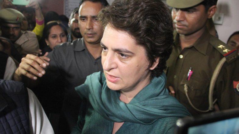 कांग्रेस महासचिव प्रियंका गांधी वाड्रा ने कहा- पीड़िता की आत्मदाह की धमकी और जनता के दबाव में हुई चिन्मयानंद की गिरफ्तारी