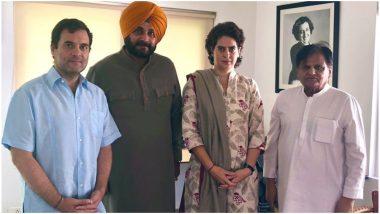 कैप्टन ने दिया झटका तो राहुल गांधी के दरबार में पहुंचे नवजोत सिंह सिद्धू, प्रियंका से भी की मुलाकात, सौंपी चिट्ठी
