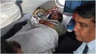 चलती ट्रेन में गर्भवती महिला को हुई प्रसव पीड़ा, डॉक्टर नहीं मिला तो TTE ने ही कराई डिलीवरी, रेलवे ने की तारीफ