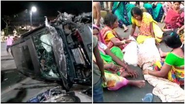 पटना: तेज रफ्तार SUV ने फुटपाथ पर सो रहे बच्चों को कुचला, 3 की मौत, लोगों ने ड्राइवर को पीट-पीटकर मार डाला