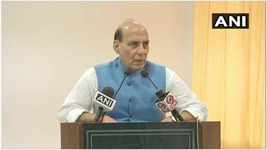 केंद्रीय रक्षामंत्री राजनाथ सिंह ने कहा- आत्मरक्षा के लिए बल प्रयोग करने से नहीं हिचकिचाएगा भारत