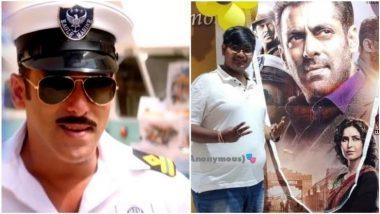 सलमान खान का 'जबरा' फैन!! 'भारत' का पहला शो देखने के लिए बुक किया पूरा थिएटर