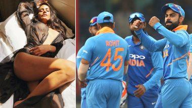 ICC Cricket World Cup 2019: पूनम पांडे ने सेमी-न्यूड फोटो शेयर करके मनाया भारत की जीत का जश्न