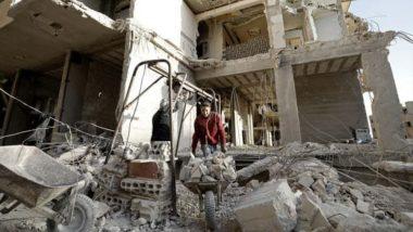 उत्तर पश्चिमी सीरिया में सरकार समर्थक बलों, विद्रोहियों और जिहादियों के बीच संघर्ष में 100 लड़ाकों की हुई मौत