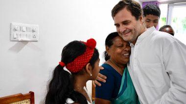 राहुल गांधी केरल दौरा: अपने जन्म के वक्त अस्पताल में नर्स रही राजम्मा से मिले, लगाया गले