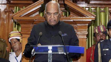 राष्ट्रपति रामनाथ कोविंद ने की अनुच्छेद 370 निरस्त होने की घोषणा, भारतीय संविधान के सभी प्रावधान जम्मू-कश्मीर राज्य पर होंगे लागू
