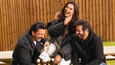 फिल्म 83 के सेट से रणवीर सिंह ने दीपिका पादुकोण संग तस्वीर की शेयर, बैट से मार खाते हुए दिखा एक्टर