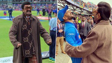 India vs Pakistan, ICC Cricket World Cup 2019: रणवीर सिंह पहुंचे मेनचेस्टर, शिखर धवन के साथ क्रिकेट ग्राउंड पर की मस्ती