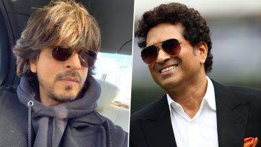 शाहरुख खान ने 'दीवाना' स्टाइल में बाइक परमारी एंट्री तो सचिन तेंदुलकर ने दे ये डाली नसीहत