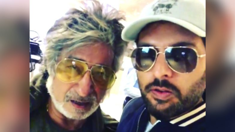 Viral: युवराज सिंह से जब एयरपोर्ट पर हुई शक्ति कपूर की मुलाकात, क्रिकेटर की गुजारिश पर एक्टर ने कहा ये एपिक डायलॉग