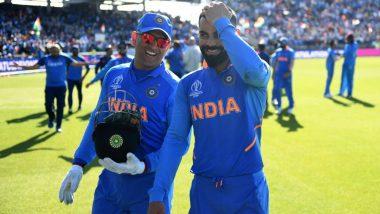 Ind vs Aus, CWC 2019: चौतरफा आलोचना झेल रहे धोनी को मिला कप्तान कोहली का सहारा, बताया लीजेंड