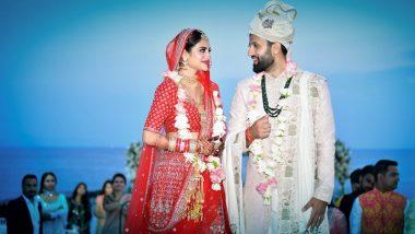 शादी के बंधन में बंधी TMC सांसद नुसरत जहां, सोशल मीडिया पर शेयर की ये खूबसूरत तस्वीरें