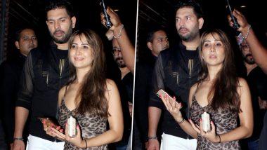 युवराज सिंह की रिटायरमेंट पार्टी में पहुंची एक्स-गर्लफ्रेंड किम शर्मा, देखें HD photos