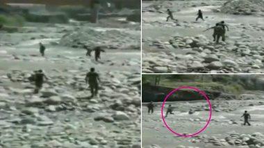 जम्मू-कश्मीर: सीआरपीएफ के जवानों ने बारामूला में एक बच्ची को डूबने से बचाया, देखें वीडियो