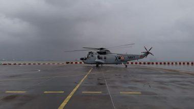 मुंबई में बारिश से मचा त्राहिमाम, आम जनजीवन प्रभावित, ट्रेनें फंसी, भेजे गए वायुसेना के हेलीकॉप्टर