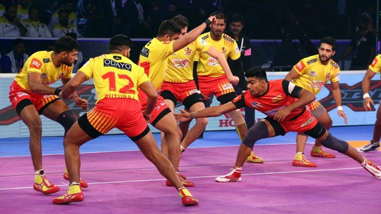 Pro Kabaddi League 2019: गुजरात फार्च्यूनजाएंट्स ने चैंपियन बेंगलुरु बुल्स को किया चित