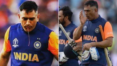 ICC Cricket World Cup 2019: खून निकलने के बावजूद इंग्लैंड के खिलाफ टीम इंडिया को जीत दिलाने का प्रयास कर रहे थे धोनी, सोशल मीडिया पर लोगों ने सराहा