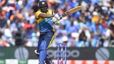 IND vs SL, CWC 2019: एंजेलो मैथ्यूज का शानदार शतक, श्रीलंका ने भारत के सामने रखा 265 रन का लक्ष्य