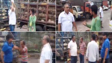 मुंबई: शिवसेना पार्षद मिलिंद वैद्य ने गाड़ियों की पार्किंग को लेकर ट्रक के ड्राइवरों को पीटा, देंखे वीडियो
