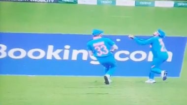 IND vs SL, ICC CWC 2019: कुलदीप यादव और हार्दिक पांड्या ने मैच के दौरान की ये बड़ी गलती, देखें वीडियो