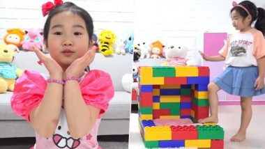 यूट्यूब स्टार है 6 साल की ये प्यारी बच्ची, 55 करोड़ रुपये में खरीदी पांच मंजिला इमारत, देखें Video
