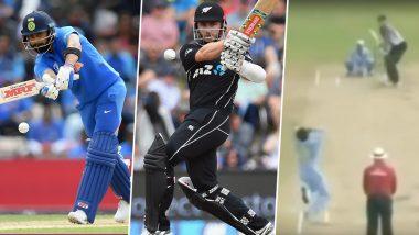 IND vs NZ, ICC CWC 2019 Semi-Final: 11 साल पहले विराट कोहली ने इस तरह लिया था केन विलियमसन का विकेट, देखें वीडियो