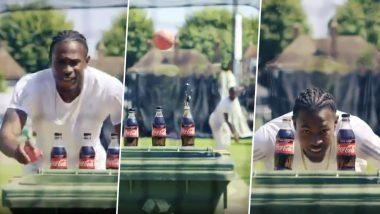 इंग्लैंड के तेज गेंदबाज जोफ्रा आर्चर ने ऐसे पूरा किया 'बॉटल कैप चैलेंज', देखें वीडियो