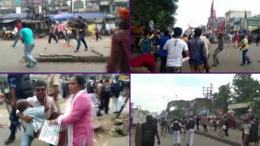 पश्चिम बंगाल: आसनसोल में फिर भिड़े बीजेपी-TMC कार्यकर्ता, पुलिस ने किया लाठीचार्ज