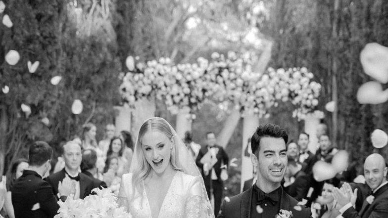 जो जोनस ने शेयर की अपनी शादी की पहली तस्वीर, कहा- मिस्टर एंड मिसेज जोनस