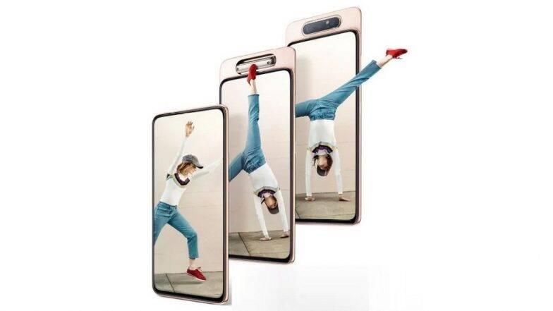 Samsung Galaxy A80 हुआ भारत में लॉन्च, मिलेगा 48MP का रोटेटिंग कैमरा, जानिए कीमत और खास फीचर्स