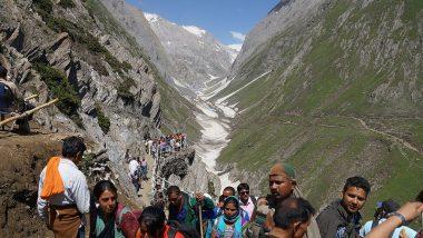 अमरनाथ यात्रा: 29 दिनों में 3.20 लाख से ज्यादा श्रद्धालुओं ने बाबा बर्फानी के किये दर्शन