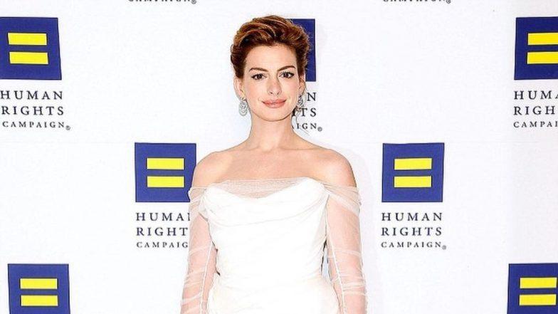 हॉलीवुड एक्ट्रेस ऐनी हैथवे ने सोशल मीडिया पर शेयर की गर्भवती होने की खबर
