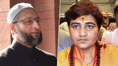 प्रज्ञा सिंह ठाकुर के बयान पर ओवैसी ने ली चुटकी, कहा- PM मोदी के अभियान को दे रहीं हैं चुनौती