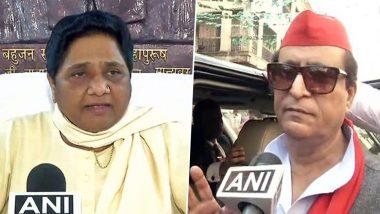 आजम खान के खिलाफ BSP प्रमुख मायावती ने भी खोला मोर्चा, कहा- सिर्फ संसद नहीं, सभी महिलाओं से मांगे माफी